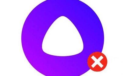 Как удалить голосовой помощник Алиса с телефона (Android/iOS) и с компьютера (Windows)